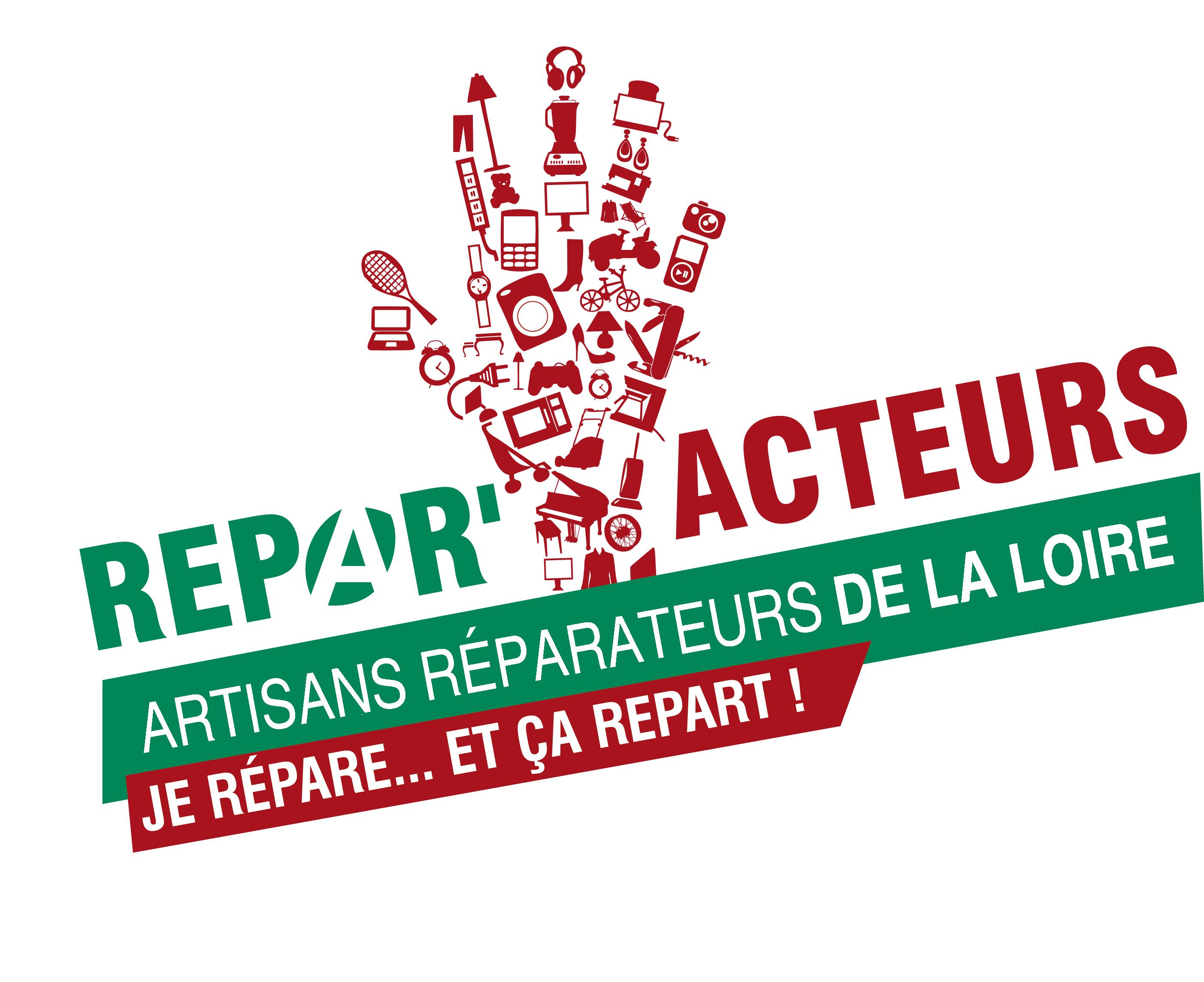 Logo Répar'acteurs Loire
